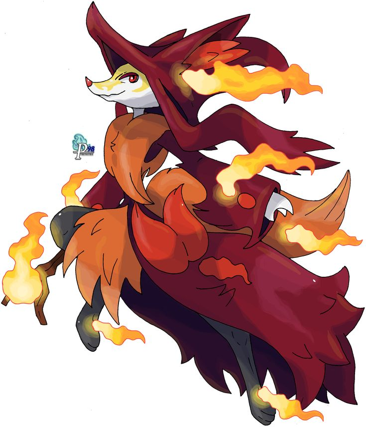Delphox mega evolution species fox pok mon type fire ghost mega evolution only pokemonz - Pokemon tortank mega evolution ...