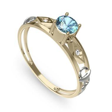 49d61506b7ac0 Anel de Formatura  Significado, Cor e Profissão Fotos e Dicas-anel-formatura-agua-marinha-feminino    Joyas   Pinterest   Rings, Jewelry y Jewelry rings