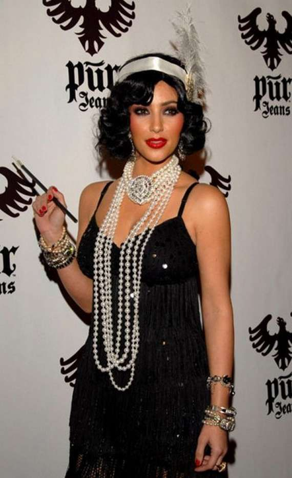I think I found my DIY  inspiration for this years costume. Loved the #GreatGatsby and I already have many of these items.