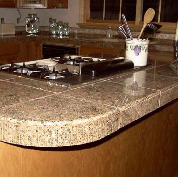 Tiled Kitchen Counters Ideas: Best 25+ Granite Tile Countertops Ideas On Pinterest