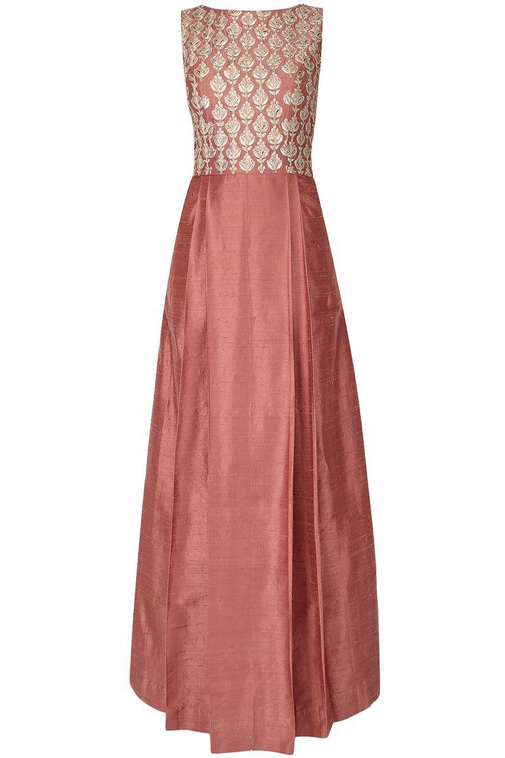 Anita Dongre raw silk based dress- color idea