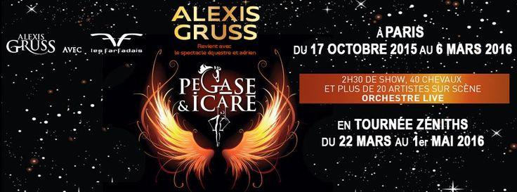 Pégase et Icare - Cirque Gruss et les Farfadais