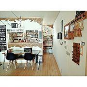 Overview,ウォールステッカー,DIY,ダイニングテーブル,ベンチ,ニトリに関連する他の写真