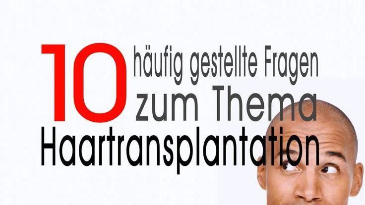 Antworten auf 10 häufig gestellte Fragen zum Thema Haartransplantation. 1. Was genau versteht man eigentlich unter einer Haartransplantation? Bei einer Haart...