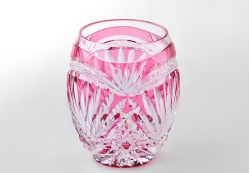 edo-kiriko rock glass