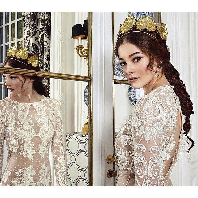#Repost @oui_novias ・・・ New campaign Oui Novias 💙  Nuevas propuestas para la novias del 2017 !  Make up & hair @oui_novias using @ghdspain & @guerlain *Inspiración Reinas del mundo* #nuevastendenciasouinovias201  #bride #novias #bodas #hair #makeup #trenzas #ouinovias  #bridal #wedding #maquillaje