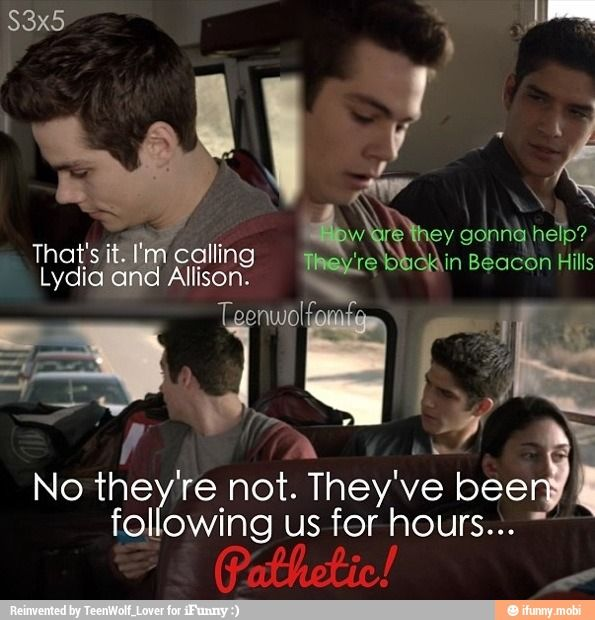 I love how Stiles is like the Supreme Know It All of Everything despite being pretty much one of the only people without any special ability.