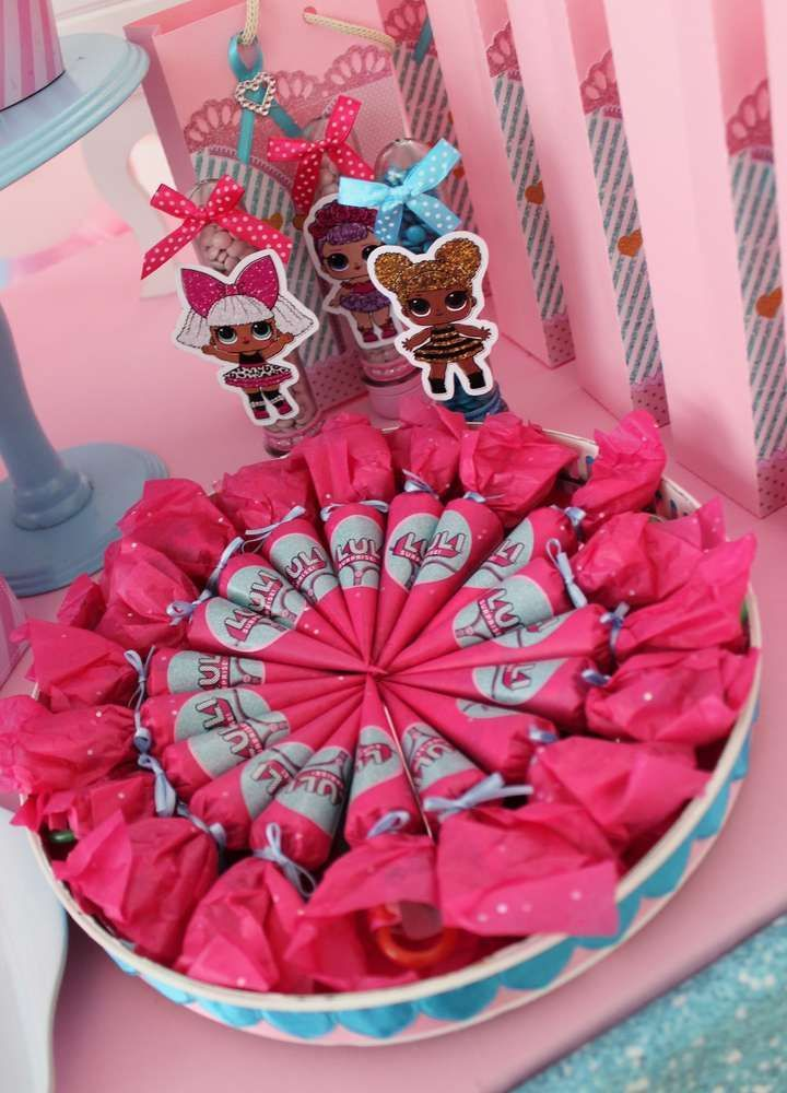 Lol Surprise Dolls Birthday Party Ideas Photo 1 Of 19 In