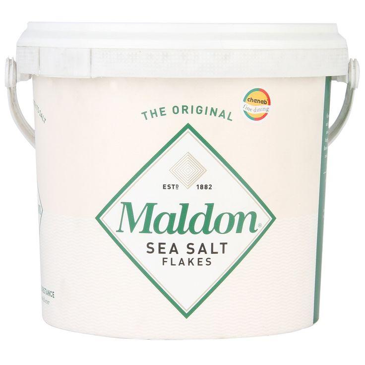 Feinstes Salz - es würzt dezent, kitzelt die Aromen und liebkost. Danach gibt es kein anderes mehr. Für Foodies & Kenner. Maldon Sea Salt Flakes.