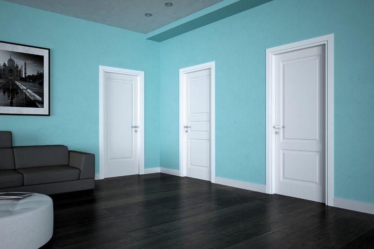 FBP porte | Collezione GIOIA - Modelli: Gioia 1,2 e 3- Colore: laccata bianca #fbp #porte #legno #laccata #door #wood