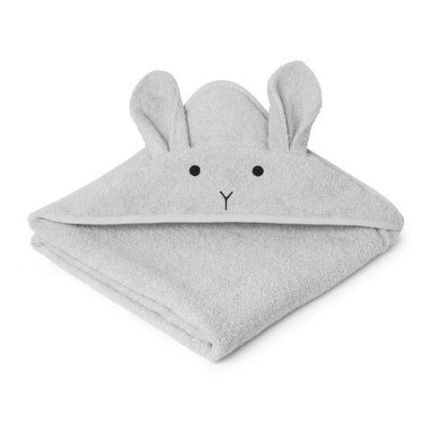 Liewood - Augusta hooded towel - rabbit