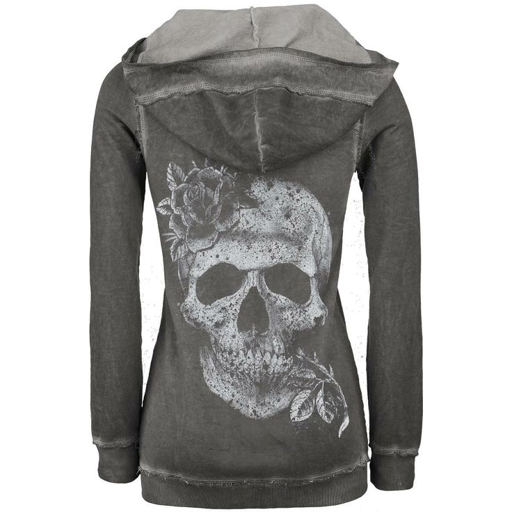 two things I like skulls and roses hoodie