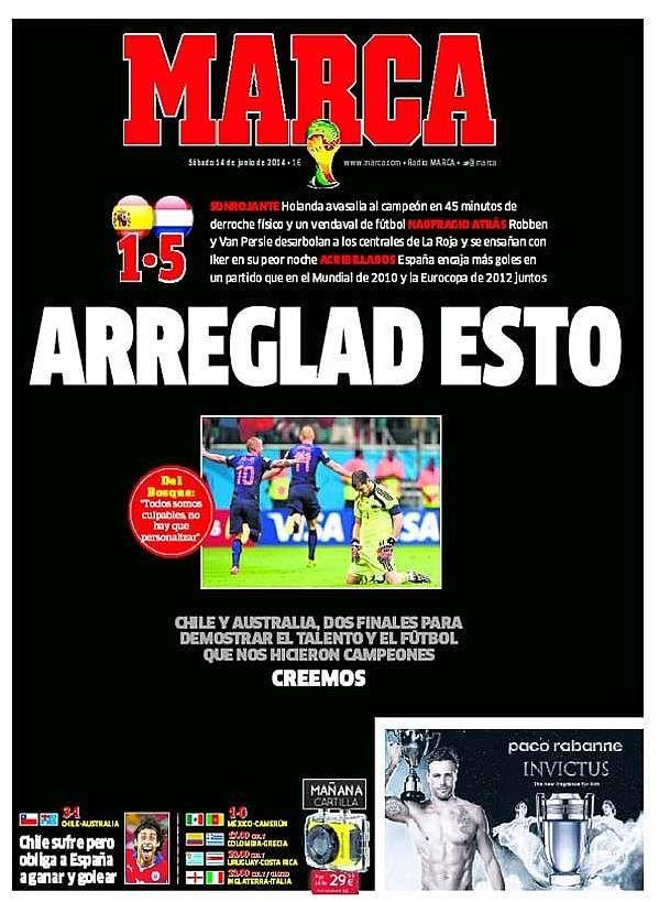 Selección Española de Futbol:  Arreglad esto.  Creemos.  Revista de prensa - MARCA.com
