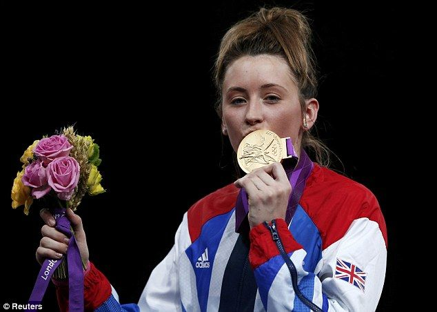 Jade Jones became Britain's youngest Olympic champion at London 2012 as the  19-year-old nicknamed the 'Head Hunter' claimed taekwondo gold. How about that for teenage kicks?   Jones threw her helmet in the air in joy and disbelief after winning her -57kg final against China's No 2 seed Yuzhuo Hou 6-4 to claim Britain's first gold medal at an Olympic Games in the sport.