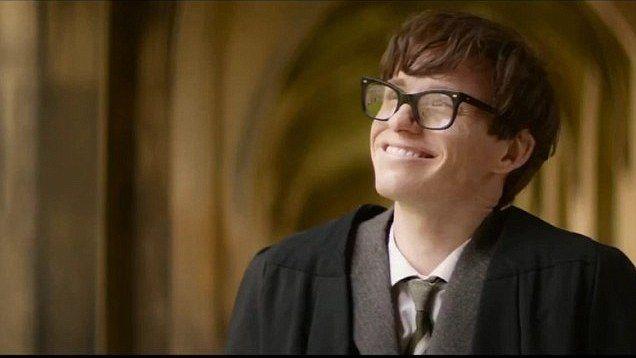 Eddie Redmayne's transformation into Stephen Hawking MUST be seen to be believed
