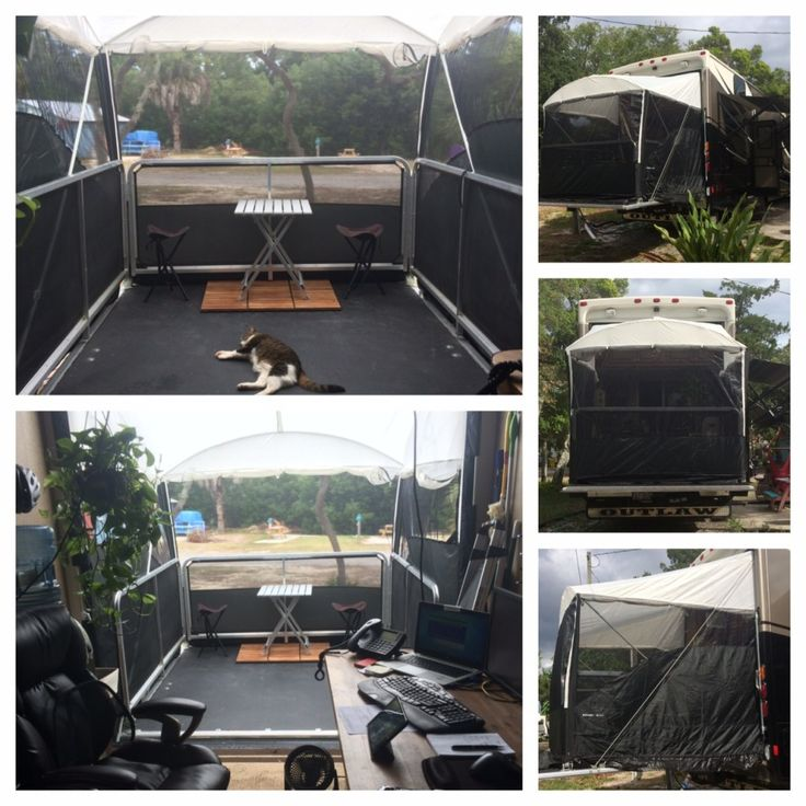 Xtend A Room Toy Hauler Patio Rv Trailer Life