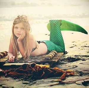 Swimable Mermaid Tails for the Little Ladies