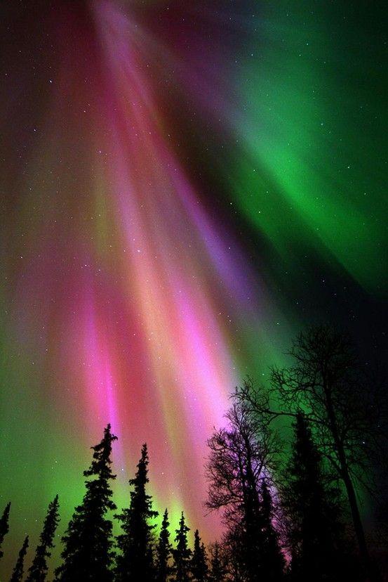 aurora borealis ... Wow