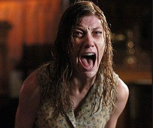 """Horror Movie sets that were actually haunted! Jennifer Carpenter, the actress who played the titular character in 2005 film """"The Exorcism of Emily Rose,"""" reports that her radio would turn itself on in the middle of the night several times while filming the movie. Not only that, but it would also play a section of a Pearl Jam song that recited, """"I'm still alive,"""" over and over again. We hope this is just a case of faulty electronics, because that is seriously eerie."""