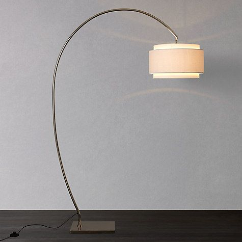 Buy John Lewis Evie Curve Floor Lamp Online at johnlewis.com                                                                                                                                                                                 More