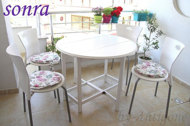 byAntigone..: Balkon Masası ve Sandalye Boyama