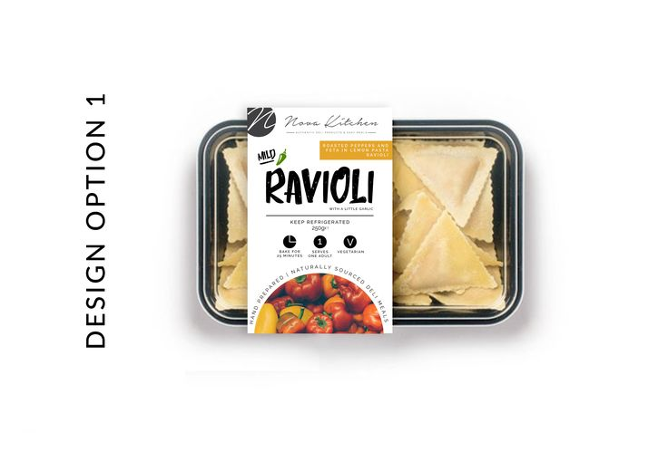 Nova Kitchen Labelling and Packaging