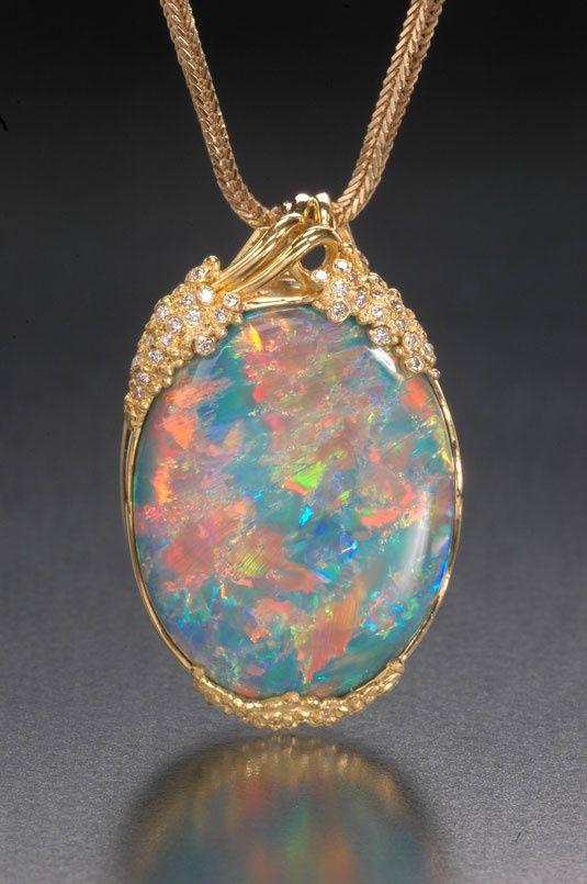 Opal Pendant Magical Opals Pinterest Beautiful