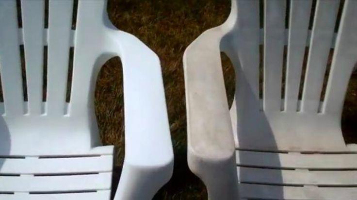 Comment retrouver du mobilier en plastique comme neuf