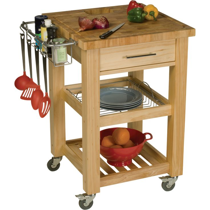 Professional Chef Work Station with Natural Finish | www.kotulas.com | Free Shipping
