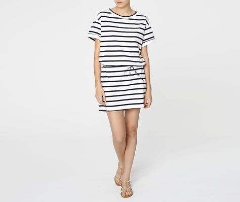 Sailor stripe dress - OYSHO