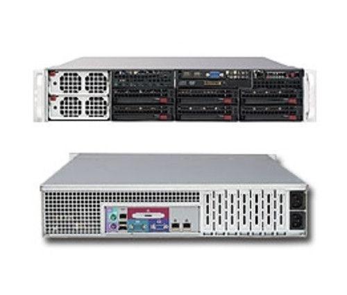 2U Supermicro Server SYS-8026B-6RF 4x Intel Xeon E7-4030 Eight Core 128GB X8QB6-F