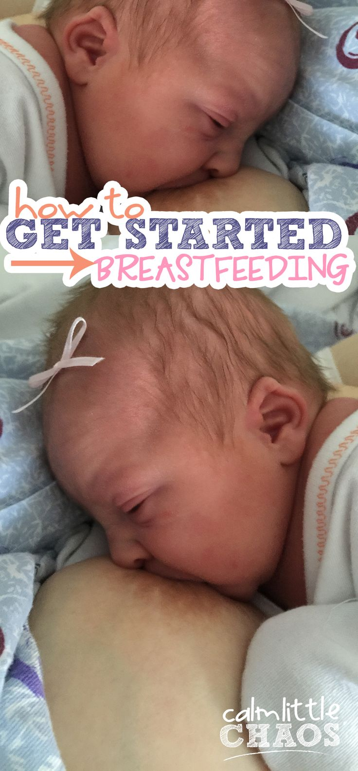 You've decided you want to breastfeed when babe gets here, but you're overwhelmed with getting off to the right foot. Let me help you with these tips for new moms to help you get started breastfeeding from a mom who's been there. Click through to learn more!