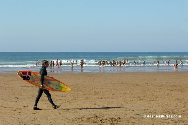 Surf en Asturias, las mejores playas de Asturias para el surf   Playas   desdeasturias.com