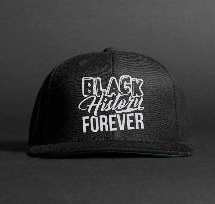 Black History Forever BLK Snapback