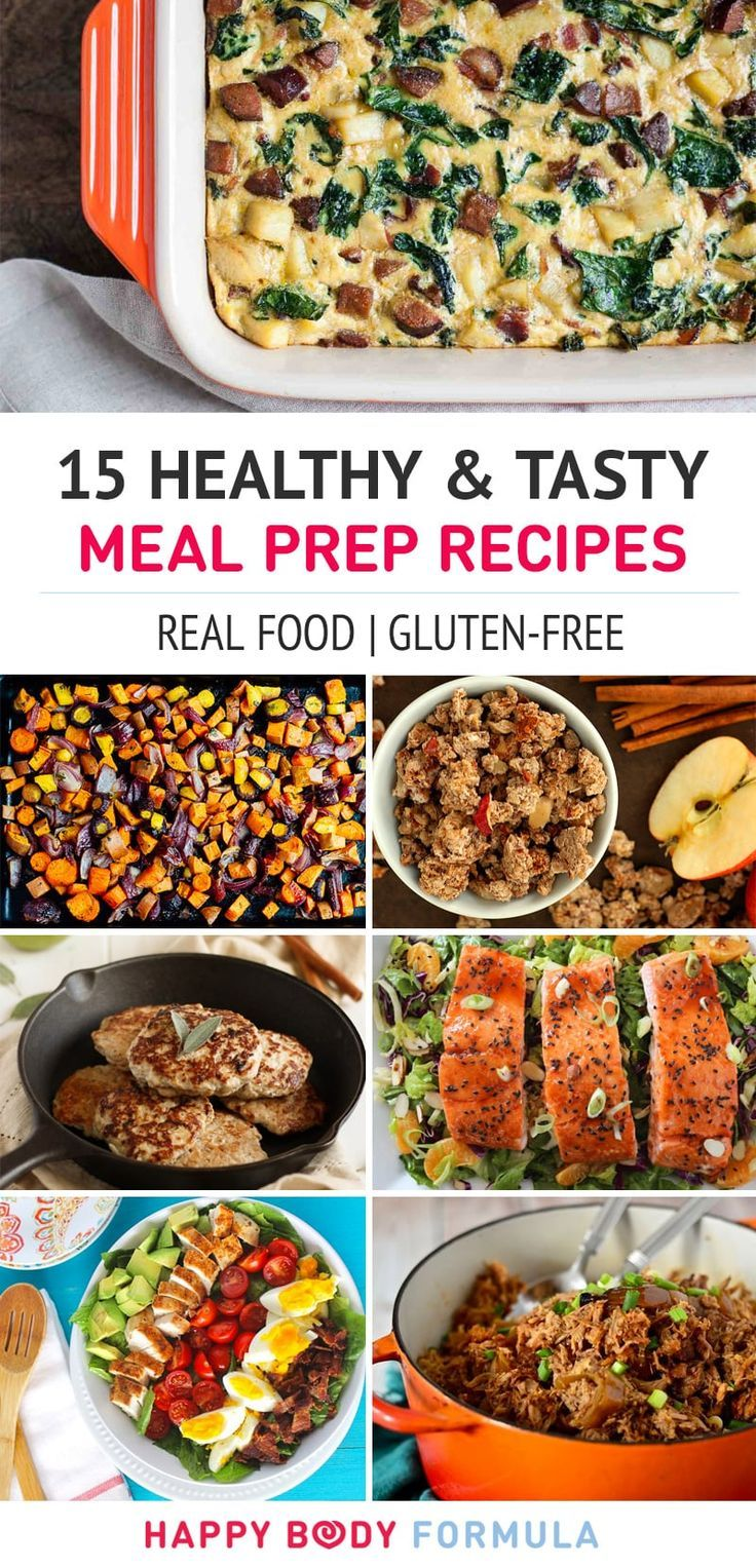 15 Healthy Meal Prep Recipes (Real Food, Gluten-Free, Paleo)