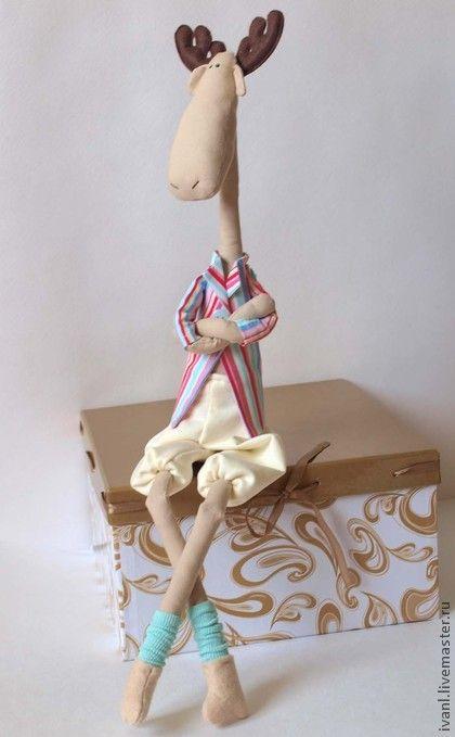Куклы Тильды ручной работы. Ярмарка Мастеров - ручная работа Лось. Handmade.
