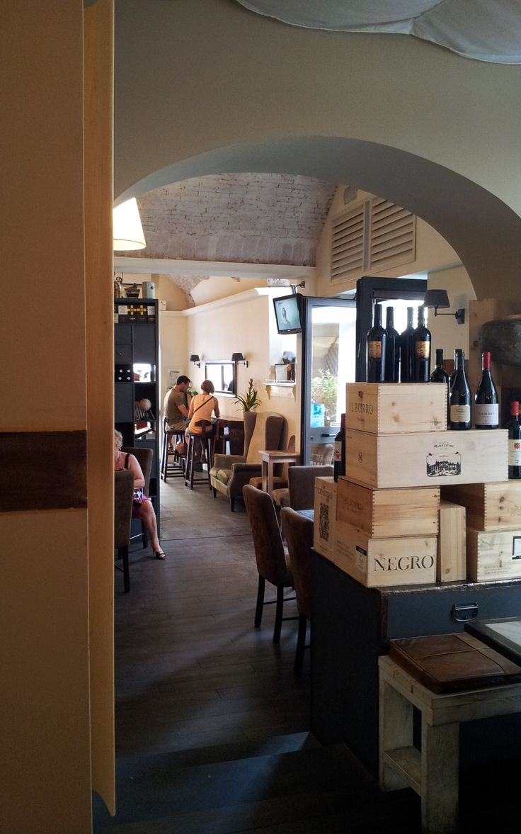 Koffie café in Sienna. (Vakantie Toscane Italië juli 2013).