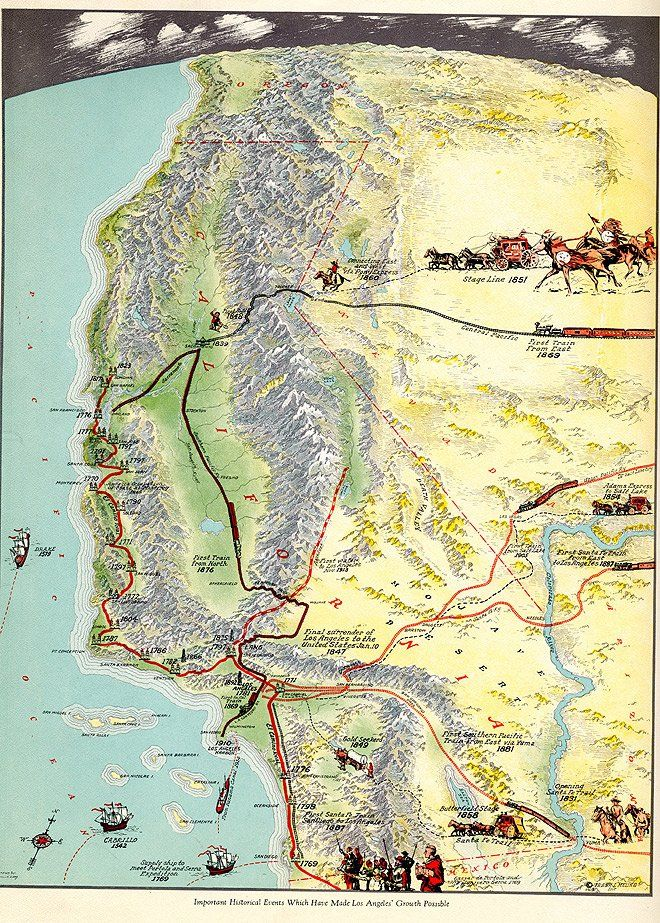 124 best Vintage Maps of CA images