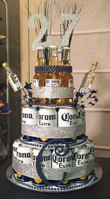 Una originalidad en las decoraciones para hombres de cumpleaños, demostrara la experiencia y hara que existe gran ambiente en la celebración