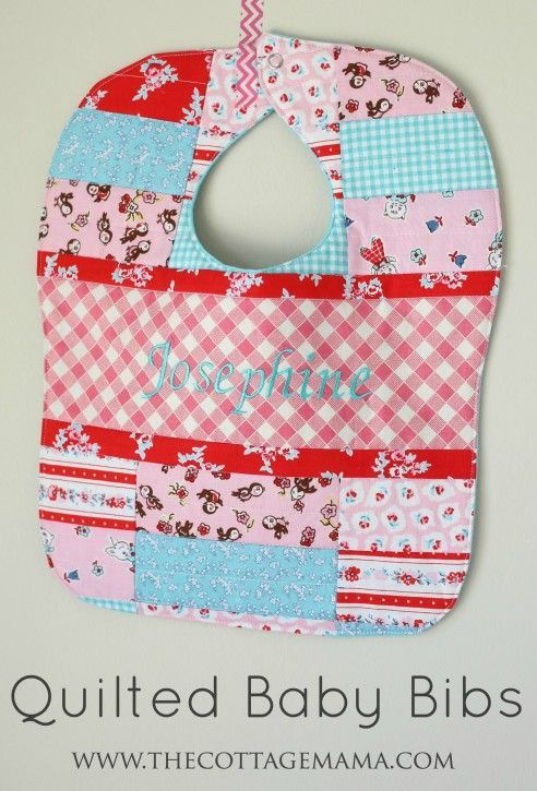 Free Patterns For Quilted Baby Bibs : 17 Best images about Oh Baby on Pinterest The cottage, Rompers and Toile curtains