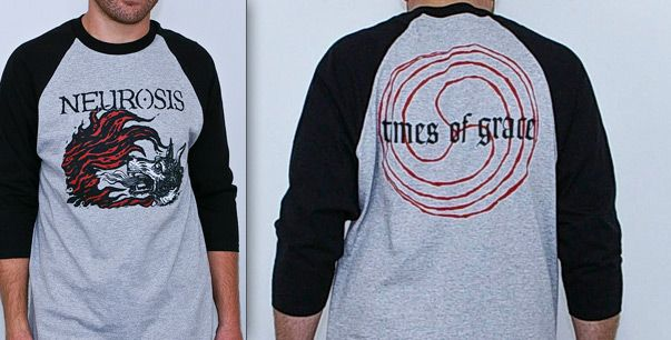 Neurosis: Times Of Grace Baseball Shirt