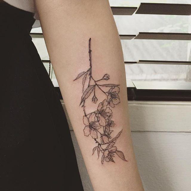 Best 20+ Tattoo Flor De Cerejeira Ideas On Pinterest