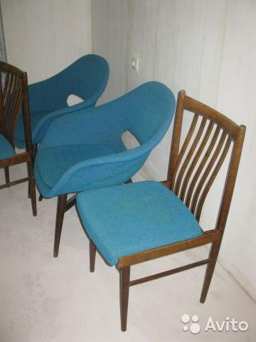 Ретро кресла и стулья— фотография №7