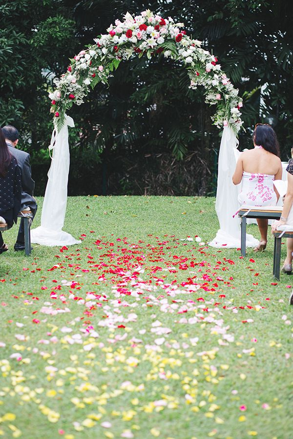 Kenneth And Zees Garden Wedding