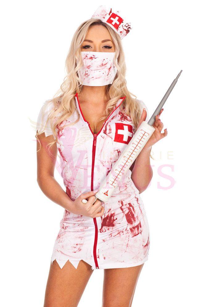 Zombie Nurse Halloween Costume $50.00
