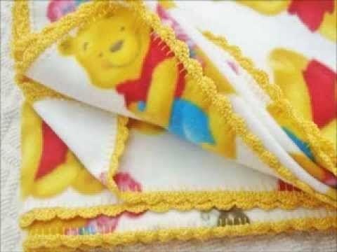 Rifinire all'uncinetto il bordo di una coperta DIY tutorial
