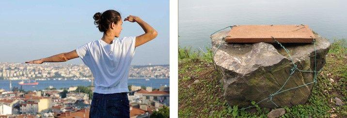 """Filiz Sızanlı """"1 metrekare / 1 dakika"""" Performansı - İstanbul Modern"""