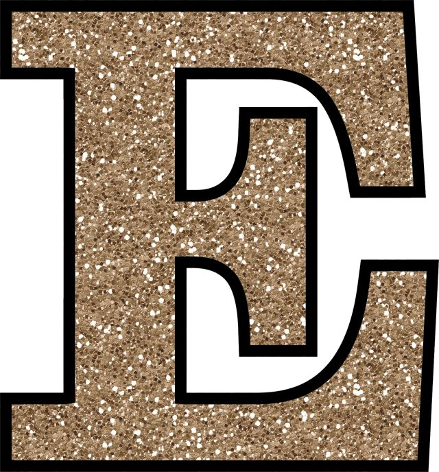 Glitter Without The Glue! Free Digital Printable Alphabet to Download: Glitter Letter E To Print