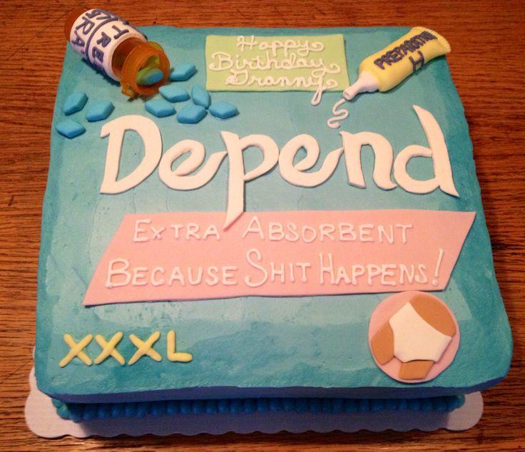 depends cake - Bing Images