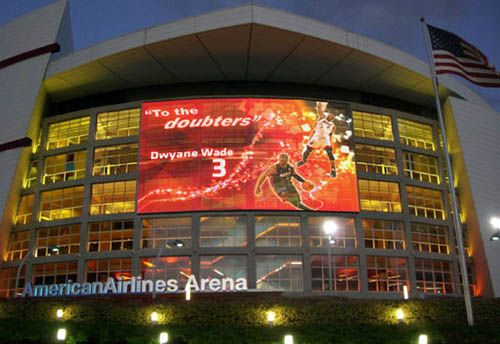 American Airlines Area - Home of the Miami Heat